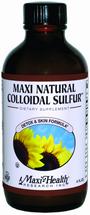 Maxi Health - Maxi Natural Colloidal Sulfur - 4 fl oz - DoctorVicks.com