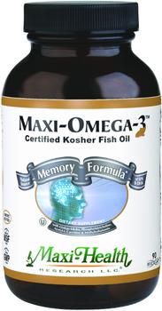 Maxi Health - Maxi Omega-3 - Memory Formula - 90 MaxiCaps - New - DoctorVicks.com