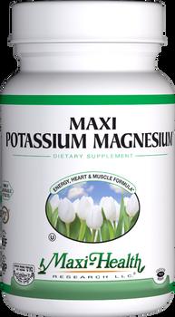 Maxi Health - Maxi Potassium Magnesium - 90 MaxiCaps - DoctorVicks.com