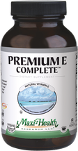 Maxi Health - Premium E Complete - Vitamin E 200 IU - 60 Liquid MaxiCaps - Normal - DoctorVicks.com