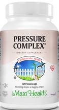 Maxi Health - Maxi Pressure Complex - Kosher Blood Pressure Formula - 120 MaxiCaps - DoctorVicks.com