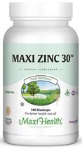 Maxi Health - Maxi Zinc 30 - 100 MaxiCaps - DoctorVicks.com