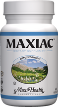 Maxi Health - Maxiac - Blood Cleanser - 60 MaxiCaps - DoctorVicks.com