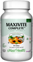 Maxi Health - Maxivite Complete with Iron - Multivitamin & Mineral - 90 Tablets - DoctorVicks.com