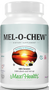 Maxi Health - Mel-O-Chew - Chewable Melatonin 1 mg - Berry Flavor - 100/200 Chewies - DoctorVicks.com