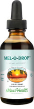 Maxi Health - Mel-O-Drop - Kosher Liquid Melatonin 1 mg - Vanilla Flavor - 2 fl oz