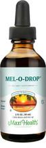 Maxi Health - Mel-O-Drop - Kosher Liquid Melatonin 1 mg - Vanilla Flavor - 2 fl oz
