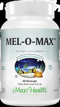 Maxi Health - Mel-O-Max - Melatonin 3 mg - 60/120 MaxiCaps - DoctorVicks.com