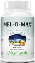 Maxi Health - Mel-O-Max - Melatonin 3 mg - 60/120 MaxiCaps - DoctorVicks.com