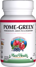 Maxi Health - Pome Green - Pomegranate, Green Tea & Blueberry - 60 MaxiCaps - DoctorVicks.com