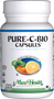 Maxi Health - Pure-C-Bio Capsules - Blood Circulation Formula - 90/180 MaxiCaps - DoctorVicks.com
