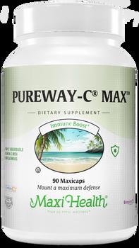 Maxi Health - PureWay-C Max - 90/180 MaxiCaps - DoctorVicks.com