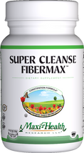 Maxi Health - Super Cleanse Fibermax - Constipation Formula - 180 MaxiCaps - DoctorVicks.com