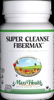 Maxi Health - Super Cleanse Fibermax - Constipation Formula - 180 MaxiCaps - DoctorVicks.com