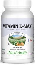 Maxi Health - Vitamin K-Max 100 mcg - 60/120 MaxiCaps - DoctorVicks.com