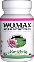 Maxi Health - Womax - Natural Phytoestrogens - 60 MaxiCaps - DoctorVicks.com