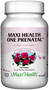 Maxi Health - Maxi Health One Prenatal - 60/120 Tablets - DoctorVicks.com