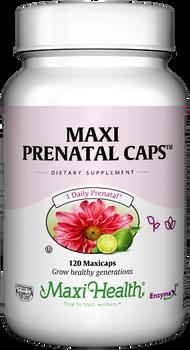 Maxi Health - Maxi Prenatal Caps - 60/120 MaxiCaps - DoctorVicks.com
