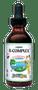 Maxi Health - KiddieMax - Liquid B-Complex - Berry Flavor - 2 fl oz - DoctorVicks.com