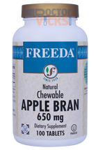 Freeda Vitamins - Apple Bran Fiber - 100 Chewies - © DoctorVicks.com