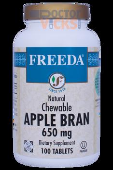 Freeda Vitamins - Apple Bran Fiber - 100 Chewies - © DoctorVicks.com