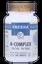 Freeda Vitamins - B Complex No Folic Or Paba - 100 Tablets - © DoctorVicks.com