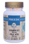 Freeda Vitamins - Vitamin B12 & Folic Acid - 100 Tablets - © DoctorVicks.com