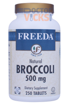 Freeda Vitamins - Broccoli 500 mg - 250 Tablets - © DoctorVicks.com