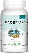 Maxi Health - Max Relax Capsules - Stress Reliever - 60/120 MaxiCaps - DoctorVicks.com