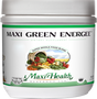 Maxi Health - Maxi Green Energee Powder - Energy Formula - Berry Flavor - 7.8 oz Powder - DoctorVicks.com