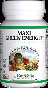 Maxi Health - Maxi Green Energee Capsules - Energy Formula - 120 MaxiCaps - DoctorVicks.com