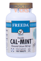 Freeda Vitamins - Chewable Cal-Mint - Mint Flavor - 100 Chewies - © DoctorVicks.com