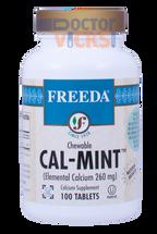 Freeda Vitamins - Chewable Cal-Mint - Mint Flavor - 100 Chewies - © DoctorVicks.com