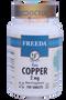 Freeda Vitamins - Copper Gluconate 2 mg - 100 Tablets - © DoctorVicks.com