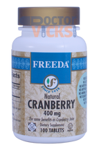 Freeda Vitamins - Cranberry 400 mg - 100 Tablets - © DoctorVicks.com