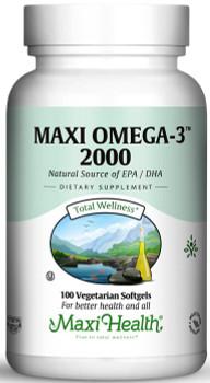 Maxi Health - Maxi Omega-3 2000 - 100/200 MaxiGels - DoctorVicks.com