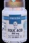 Freeda Vitamins - Folic Acid 800 mcg - 250 Tablets - Angle Two - © DoctorVicks.com