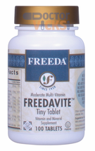 Freeda Vitamins - Freedavite - Multivitamins & Some Minerals - 100 Tablets - © DoctorVicks.com