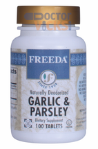 Freeda Vitamins - Garlic & Parsley - 100 Tablets - © DoctorVicks.com