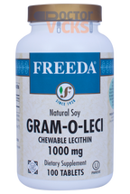 Freeda Vitamins - Chewable Lecithin Gram-O-Leci 1000 mg - 100 Chewies - © DoctorVicks.com