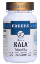 Freeda Vitamins - Kala - Acidophilus 400 Million Live & Active CFUs - 100 Tablets - © DoctorVicks.com
