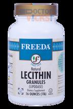 Freeda Vitamins - Lecithin Granules (Lipodase) - 16 oz Granules - © DoctorVicks.com