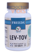 Freeda Vitamins - Lev-Tov - B6, Folic Acid & B12 - 100 Tablets - © DoctorVicks.com