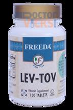 Freeda Vitamins - Lev-Tov - B6, Folic Acid & B12 - 100 Tablets - © DoctorVicks.com