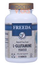Freeda Vitamins - L-Glutamine Powder 1000 mg - 8 oz Powder - © DoctorVicks.com