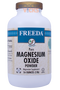 Freeda Vitamins - Magnesium Oxide Powder 390 mg - 16 oz Powder - Larger Bottle - © DoctorVicks.com