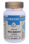 Freeda Vitamins - Enhanced Multi-Minerals - 100 Tablets - Angle Two - © DoctorVicks.com