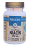 Freeda Vitamins - Niacin (B3) Timed Release 250 mg - 100 Tablets - © DoctorVicks.com