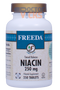 Freeda Vitamins - Niacin (B3) Timed Release 250 mg - 250 Tablets - © DoctorVicks.com