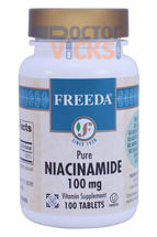 Freeda Vitamins - Niacinamide (B3) 100 mg - 100 Tablets - © DoctorVicks.com